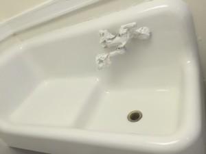 Bathroom Sink After