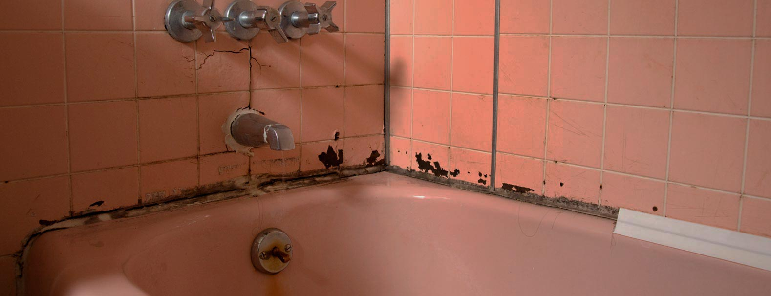 image of an old bath tub
